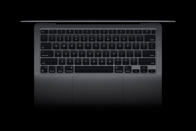 Teclado del nuevo MacBook Air
