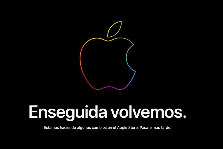Apple Store en linea cerrada