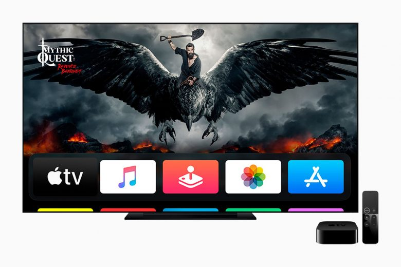 Apple TV 4K con tvOS 14