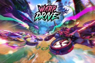 """""""Warp Drive"""". Imagen: Supergonk"""