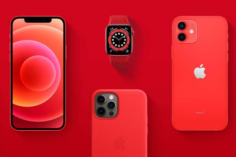 Hasta el 30 de junio de 2021, Apple dirigirá el 100% de los ingresos elegibles de las compras de (PRODUCT) RED al Fondo de Respuesta al COVID-19 del Fondo Mundial