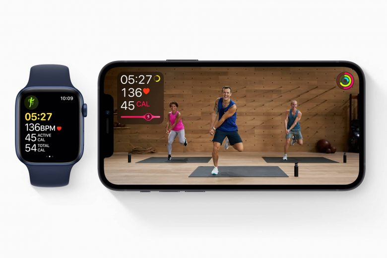 Apple Fitness+ en el iPhone y en el Apple Watch
