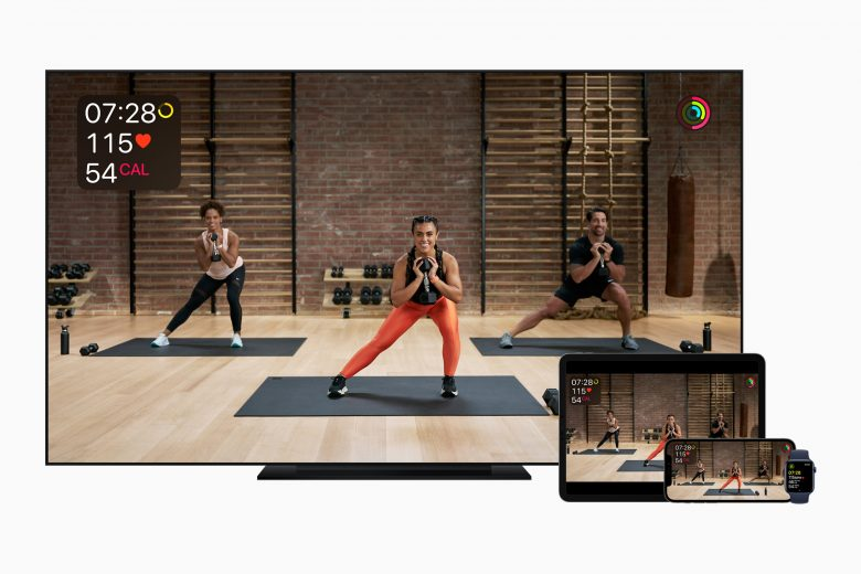 Apple Fitness+ estará disponible en el Apple Watch, iPhone, iPad y Apple TV