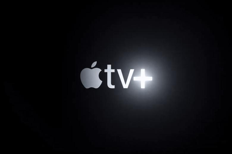 Logo de producción de los contenidos originales de Apple TV+