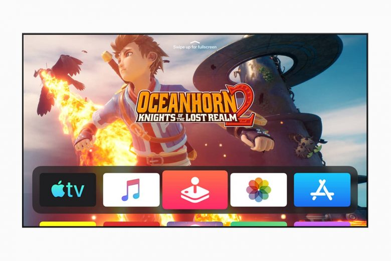 Apple Arcade en el Apple TV