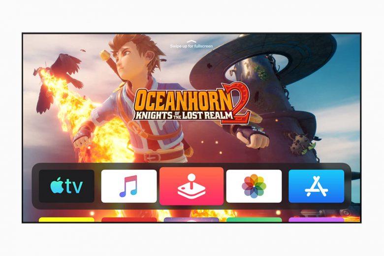 Apple Arcade en el Apple TV