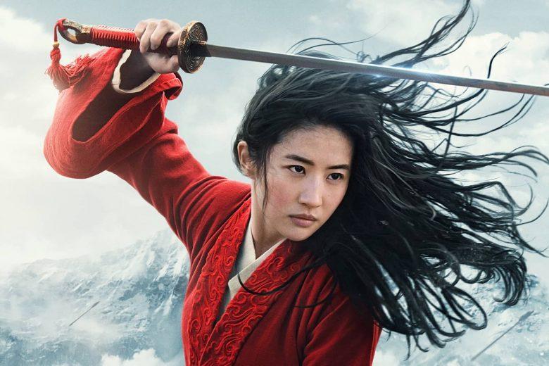 "Liu Yifei como Hua Mulan en ""Mulan"""