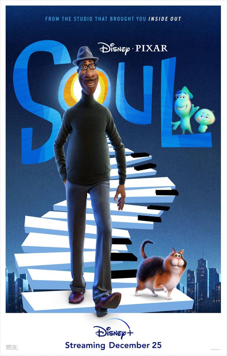"""Poster oficial de """"Soul"""""""