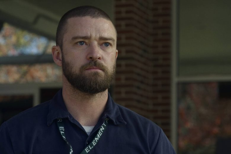 """Justin Timberlake (como Eddie Palmer) en """"Palmer"""""""