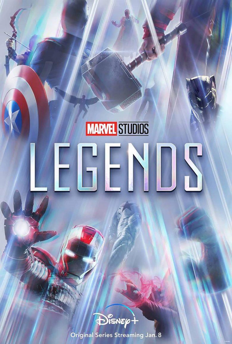 """Poster oficial de """"Marvel Studios: Legends"""""""