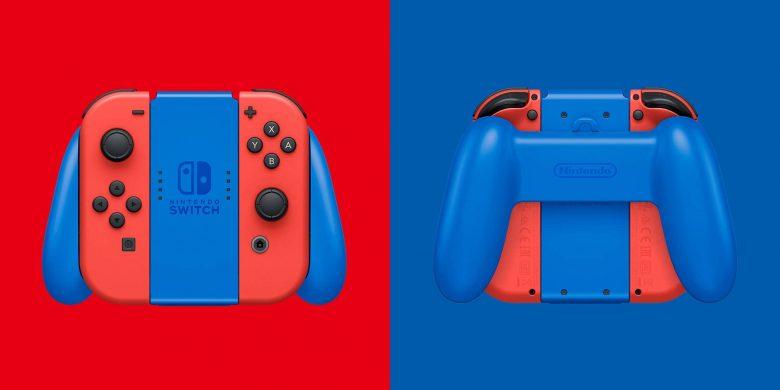 Control de la Nintendo Switch edición Mario (Rojo y Azul)