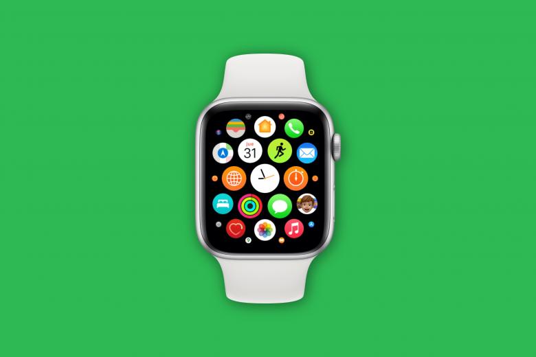 Vista de cuadrícula de las aplicaciones en el Apple Watch