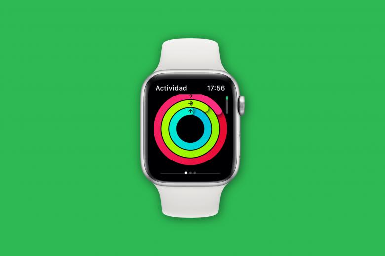 Círculos de actividad en el Apple Watch