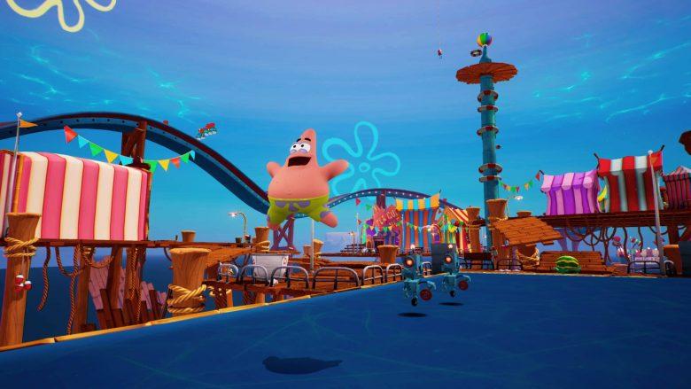 Patricio en SpongeBob SquarePants: Battle for Bikini Bottom – Rehydrated