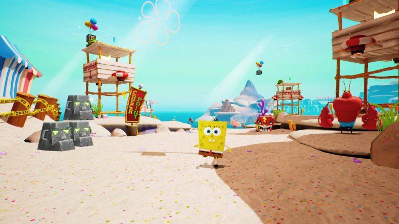 Bob Esponja en SpongeBob SquarePants: Battle for Bikini Bottom – Rehydrated