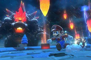 Mario en Super Mario 3D World + Bowser's Fury para Nintendo Switch