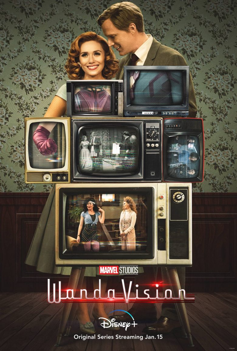 "Poster oficial de ""WandaVision"""