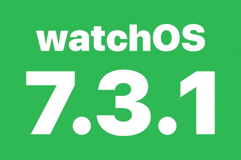 Actualización watchOS 7.3.1