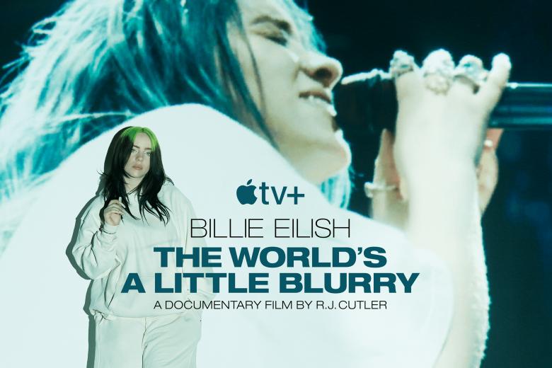"Poster de ""Billie Eilish: The World's A Little Blurry"""