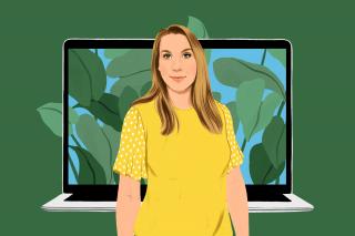 """Ilustración de la página web """"Valores compartidos"""" de Apple"""