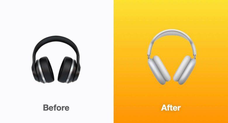 """Emoji """"Auriculares"""" actualizado en iOS 14.5"""