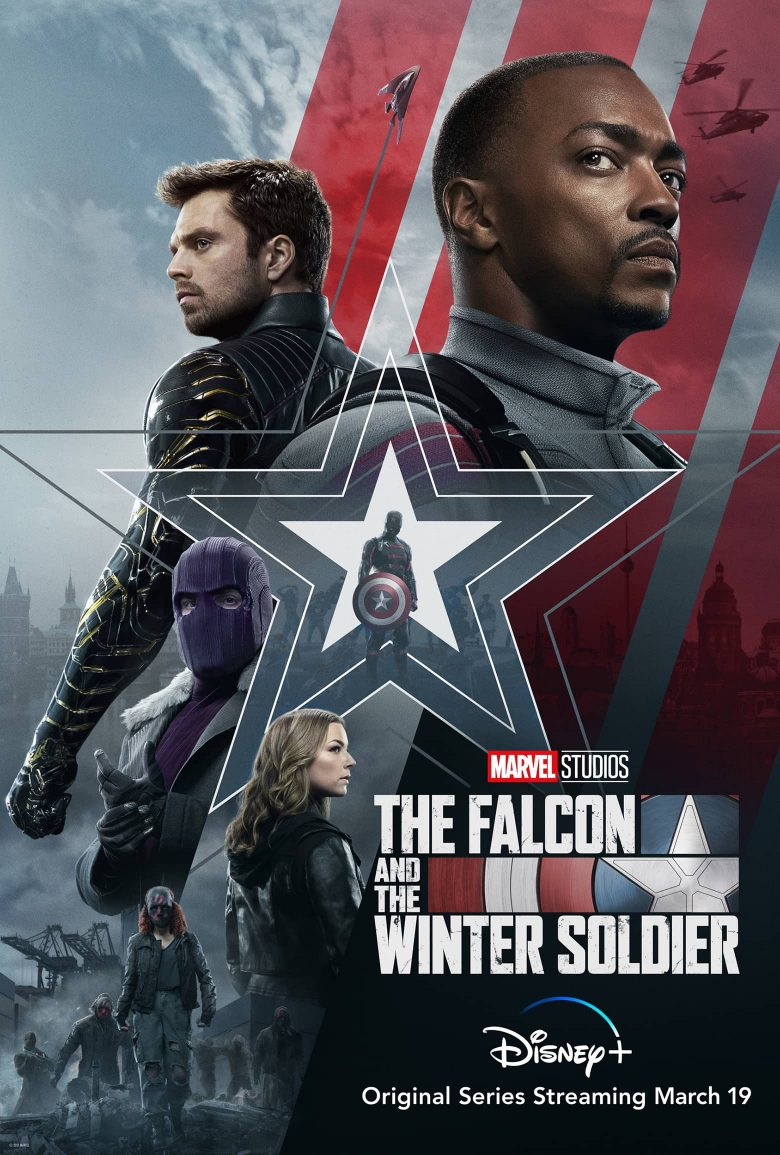 """Poster oficial de """"The Falcon and The Winter Soldier"""""""