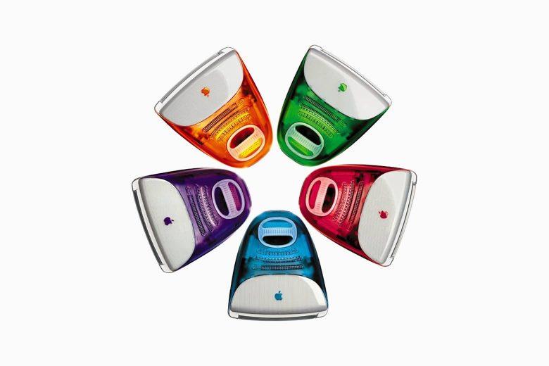iMacs G3 en diferentes colores