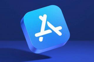 Icono 3D de la App Store