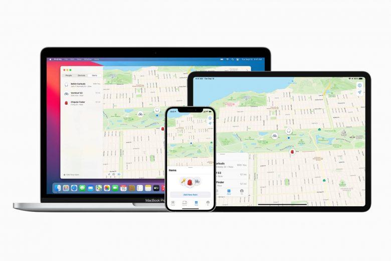 Aplicación Encontrar en iPhone, iPad y Mac