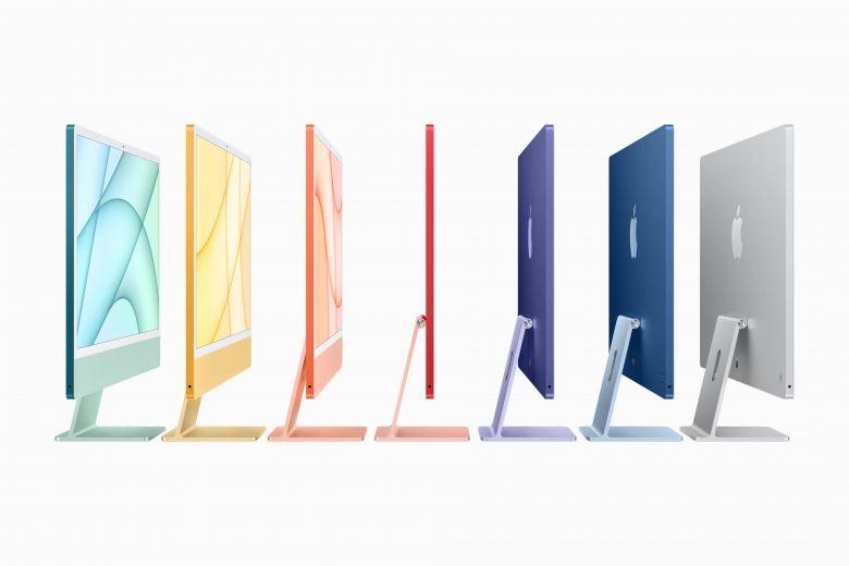 La nueva iMac cuenta con un totalmente nuevo diseño mucho más compacto y delgado