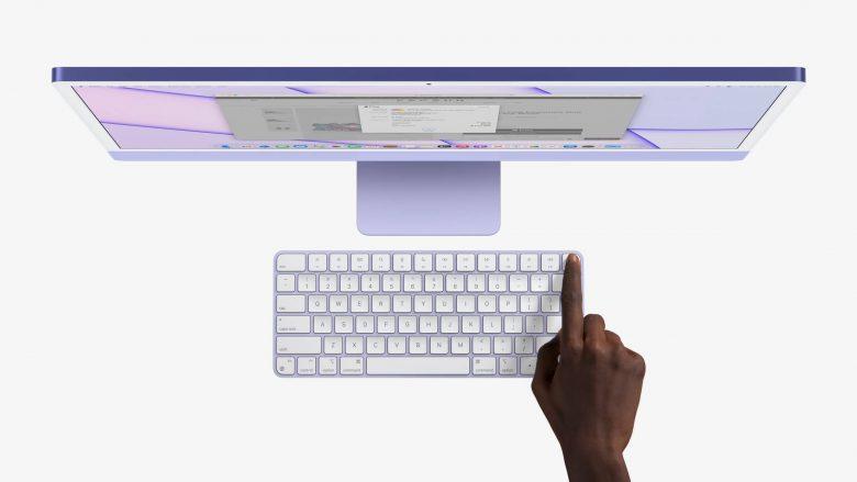 Nuevo Magic Keyboard con Touch ID
