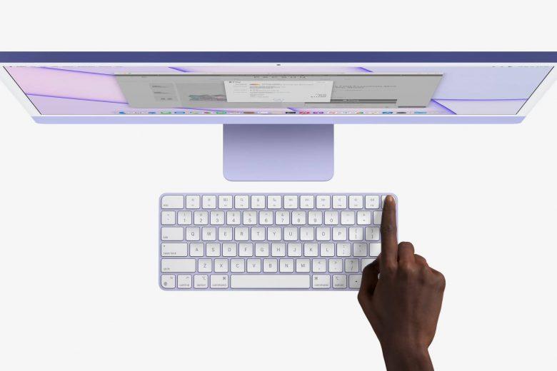 Nueva iMac de 24 pulgadas y Magic Keyboard con Touch ID
