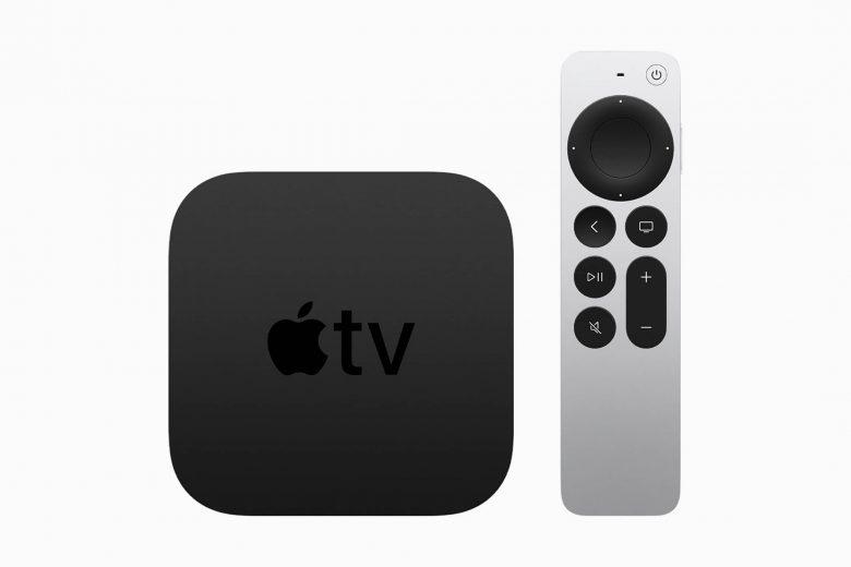 El nuevo Apple TV 4K con el nuevo Siri Remote