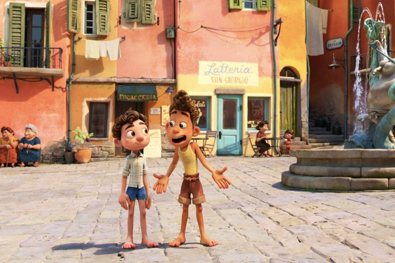 """Imagen de la película de Pixar """"Luca"""""""