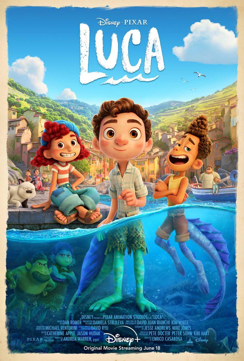 """Poster oficial de """"Luca"""""""