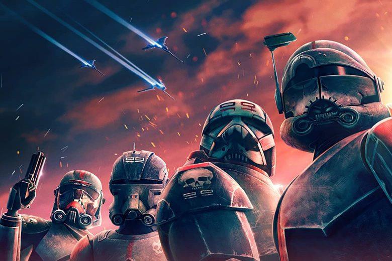 Miembros del escuadrón The Bad Batch
