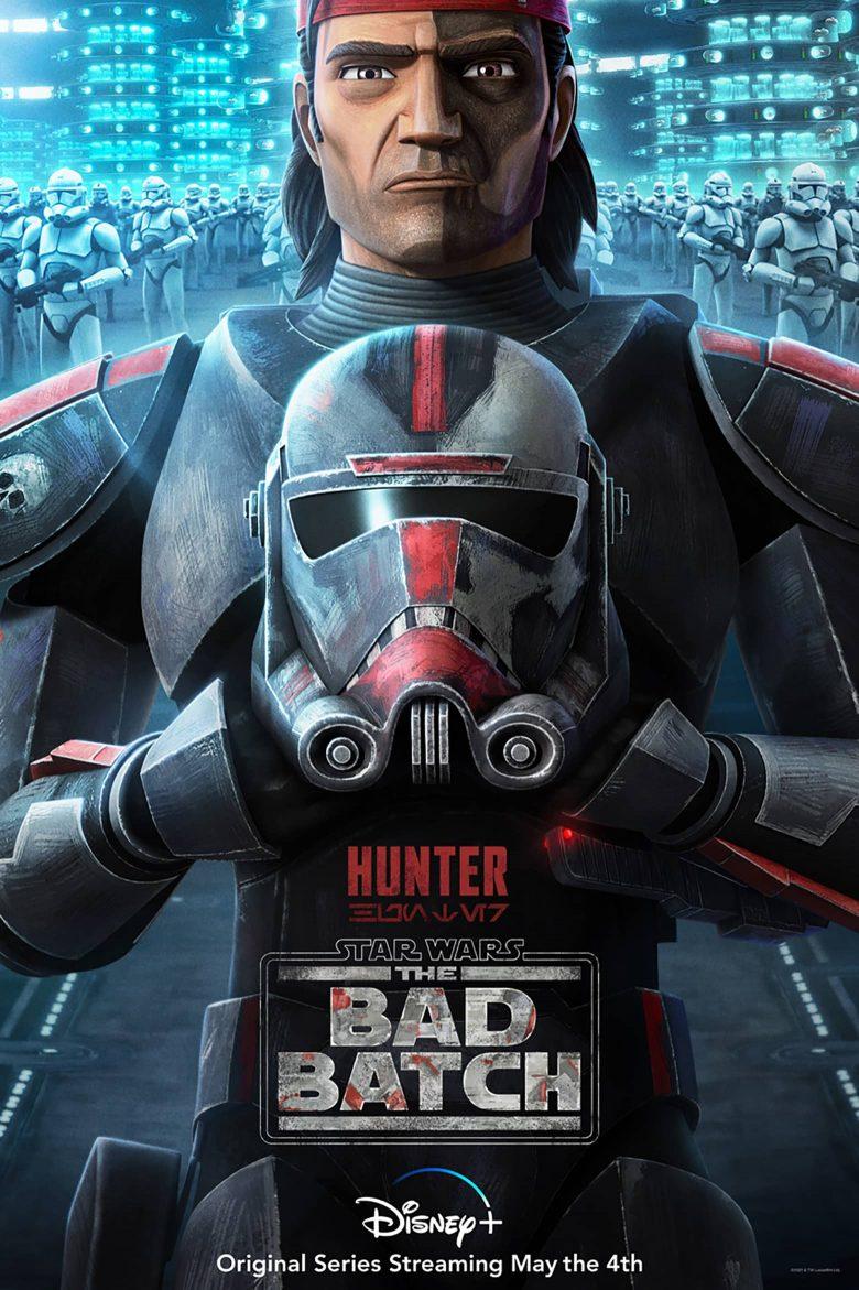 "Poster de ""Star Wars: The Bad Batch"" con Hunter"