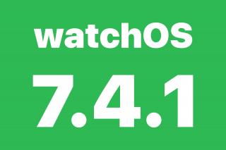 Actualización watchOS 7.4.1