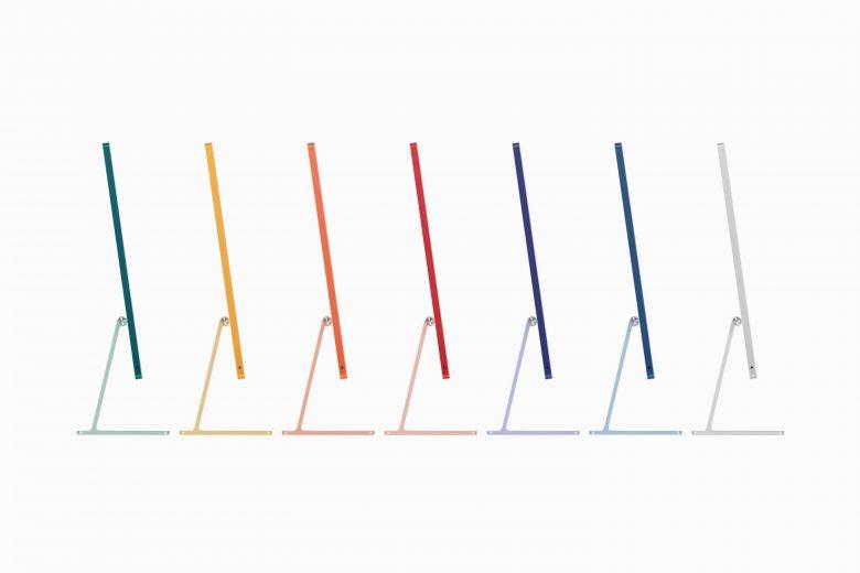 iMac de 24 pulgadas disponible en 7 colores