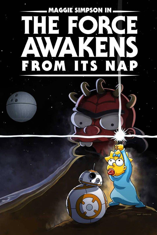 """Poster de """"Maggie Simpson en El Despertar de la Siesta"""""""