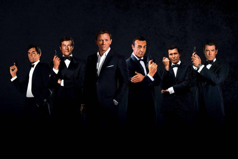 James Bond a lo largo del tiempo