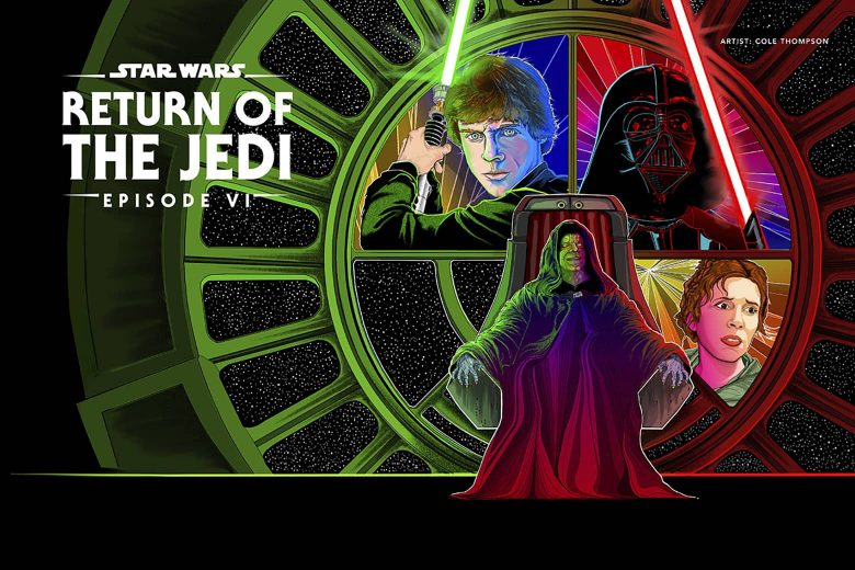 Star Wars: Return of the Jedi por Cole Thompson (Glasgow, Reino Unido)