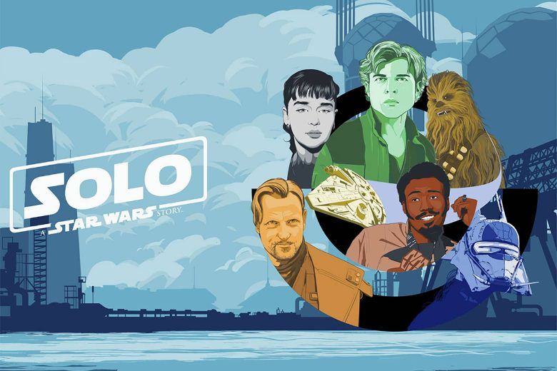 Solo: A Star Wars Story por Kwasi Amankwah (Illinois, Estados Unidos)