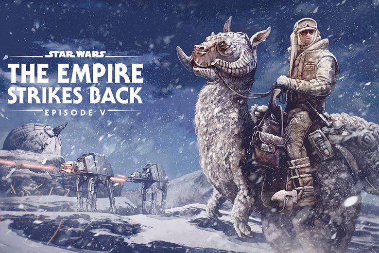 Star Wars: The Empire Strikes Back por AJ Frena (Pennsylvania, Estados Unidos)