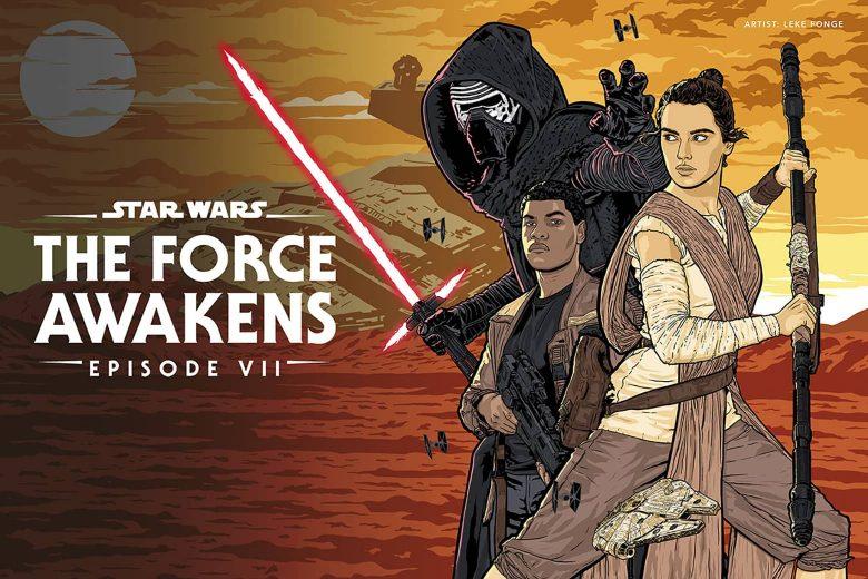 Star Wars: The Force Awakens por Lekelefac Fonge (Maryland, Estados Unidos)