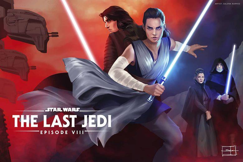 Star Wars: The Last Jedi por Salena Barnes (Berlin, Alemania)