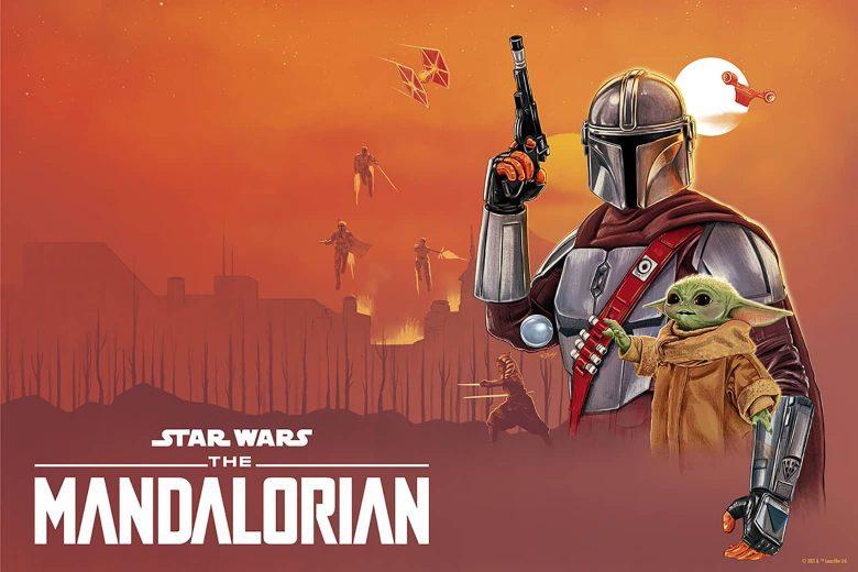 Star Wars: The Mandalorian por Doaly (Reino Unido)