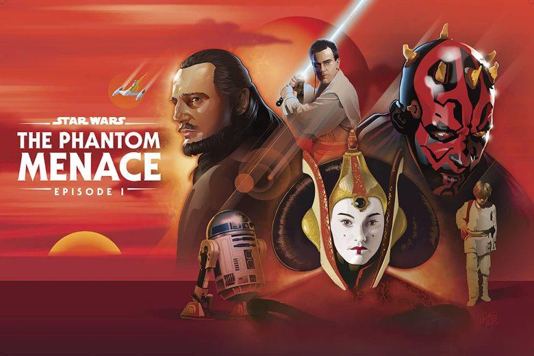 Star Wars: The Phantom Menace por Dorthea Taylor (Georgia, Estados Unidos)