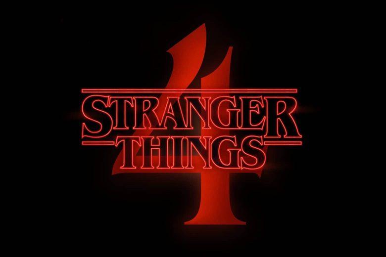 """Logo de la cuarta temporada de """"Stranger Things"""""""
