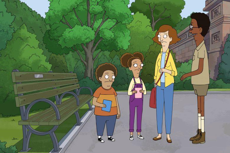 """Cole, Molly, Paige y Owen en la segunda temporada de """"Central Park"""""""